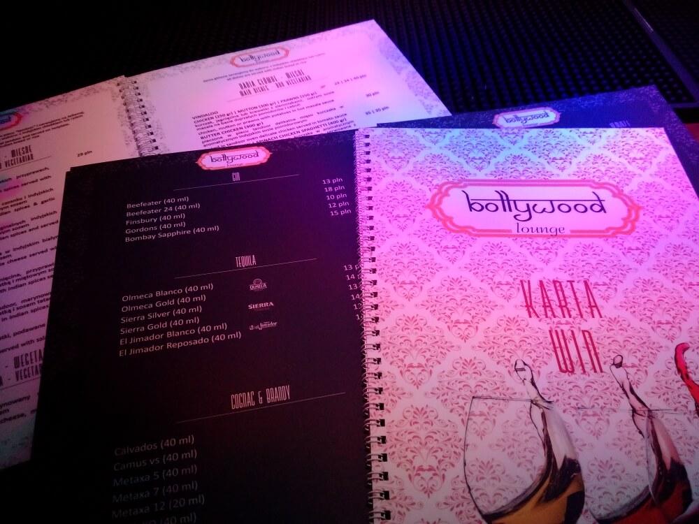 00223 menu Bollywood