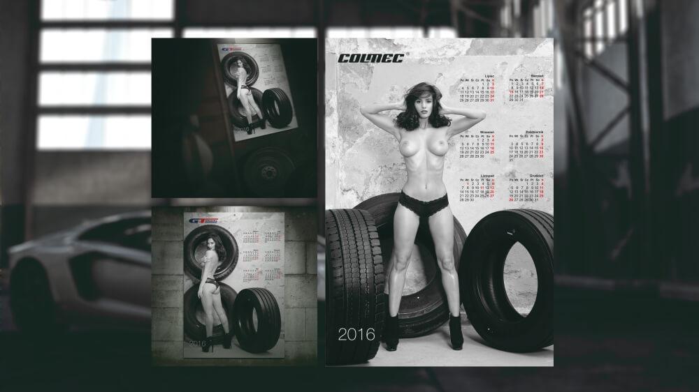 00225 kalendarz plakatowy Colmec