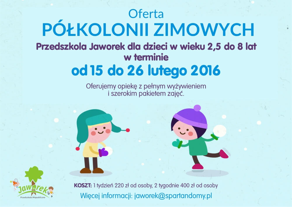 00231 ferie zimowe jaworek