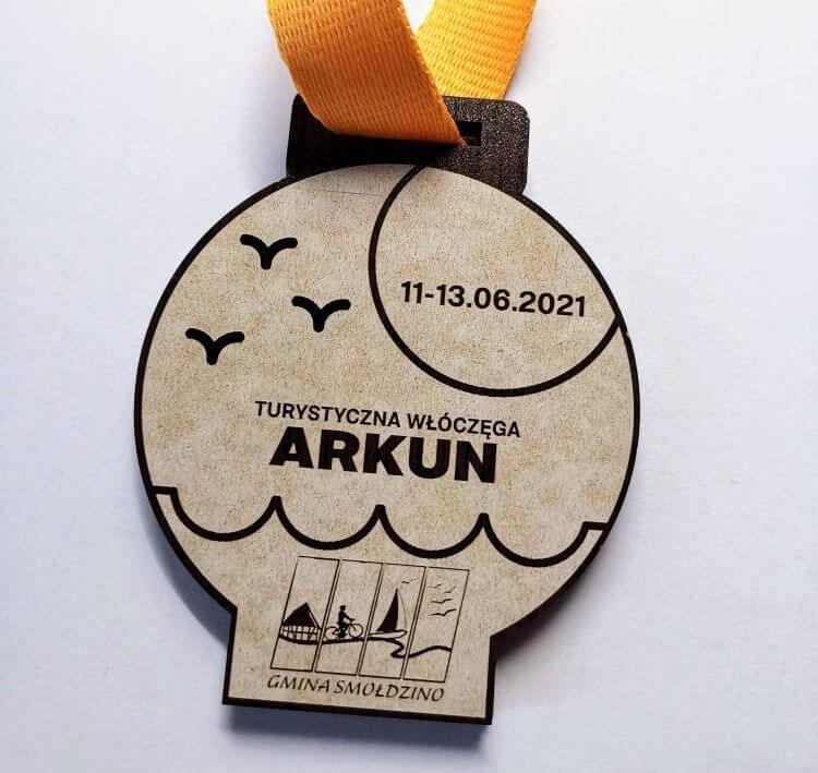 Medal dla turysty